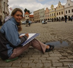 photo gallery Painting in Telc 2010